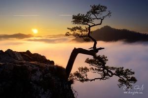 Východ slnka na Sokolici