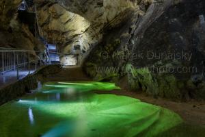 Jazierko v Belianskej jaskyni
