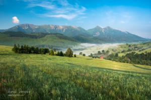 Belianske Tatry z Antošovského vrchu