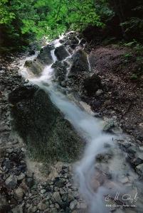 Do skaly sa zarezáva