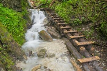 Kaskády nad vodopádom Objaviteľov