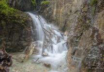 Karolínyho vodopád, Kyseľ Ferrata HZS