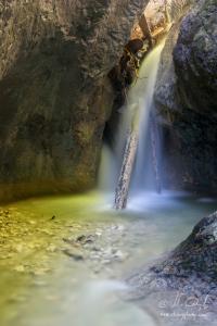 Vodopád v Temnici, Kyseľ Ferrata HZS