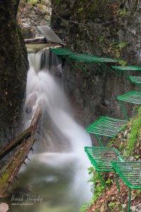Kaskády nad Obrovským vodopádom