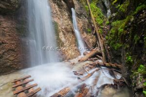 Machový vodopád