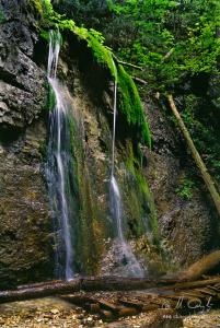 Machový vodopád - Malý Kyseľ