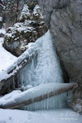 Zamrznutý Malý vodopád