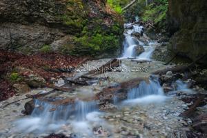 Kaskády pod Terasovým vodopádom