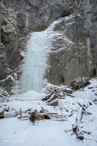 Zamrznutý Veľký vodopád