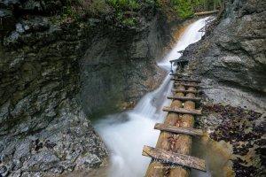 Kaskády nad Terasovým vodopádom
