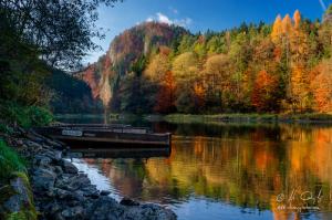 Jeseň na Pieninách pri Dunajci