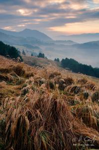 Východ slnka z kopca Šlachovky (Wysoki Wierch)