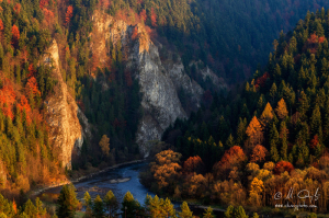 Jeseň na Prielome Dunajca