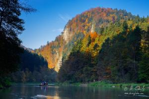Prievozník na Dunajci pod Sokolicou