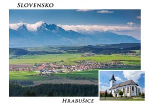 101 - Pohľadnica Hrabušice