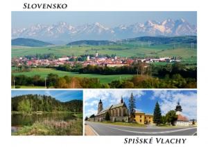 106 - Pohľadnica Spišské Vlachy