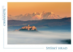 108 - Pohľadnica Spišský hrad