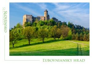 111 - Pohľadnica Ľubovniansky hrad