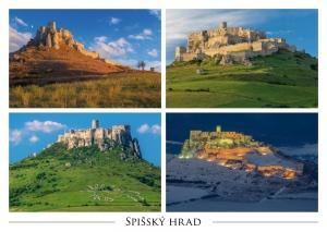 113 - Pohľadnica Spišský hrad