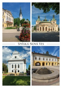 115 - Pohľadnica Spišská Nová Ves