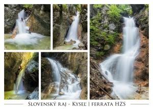 006 - Pohľadnica Kyseľ Ferrata HZS