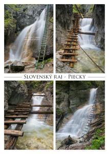 P010 - Pohľadnica Piecky