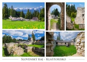 P018 - Pohľadnica Kláštorisko