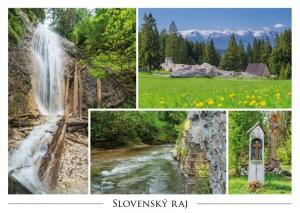 019 - Pohľadnica Slovenský raj