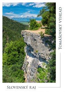 P023 - Pohľadnica Tomášovský výhľad