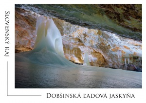 027 - Pohľadnica Dobšinská ľadová jaskyňa