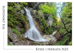 005 - Pohľadnica Kyseľ Ferrata HZS