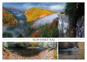 020 - Pohľadnica Slovenský raj
