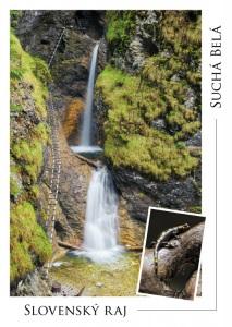 001 - Pohľadnica Suchá Belá