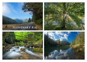 021 - Pohľadnica Slovenský raj
