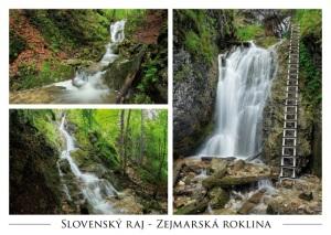015 - Pohľadnica Zejmarská roklina