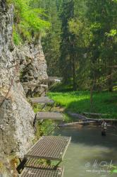 Prielom Hornádu, Stupačky pod Zelenou horou