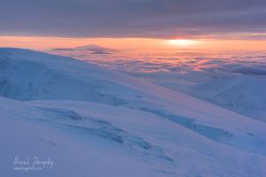 Východ slnka z Ďumbiera