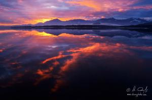 Farebné ráno na Mare I