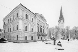 Radnica a Rímskokatolícky veľký kostol