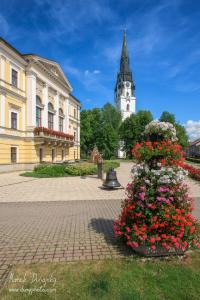 Radnica a veľký kostol