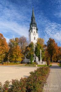 Veľký kostol v jeseni