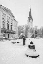 Pamatník Majstri Konrádovi pred Radnicou