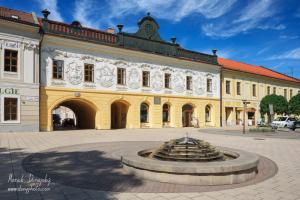 Provinčný dom a fontána
