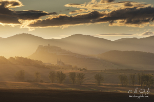 Spišský hrad a Spišská Kapitula v rannom svetle