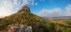 Spišský hrad a Spišské Podhradie v panoráme
