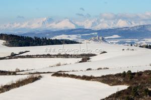 Spišský hrad a Vysoké Tatry