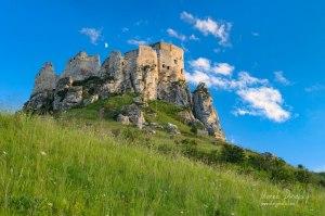 Mesiac nad Spišským hradom
