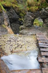 Kaskáda nad Okienkovým vodopádom