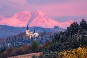 Mariánska hora a Tatry