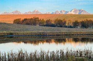 Tatry od Vrbovského rybníka